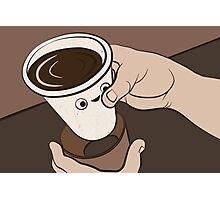 Coffee Collar Photographic Print