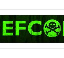 Defcon Conference Sticker