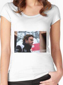 Fernando Alonso  Women's Fitted Scoop T-Shirt