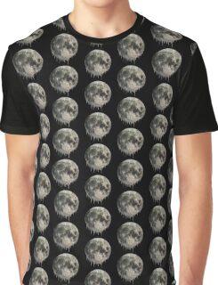Melting Moon Graphic T-Shirt