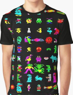 BBC Micro Heroes and Villains Graphic T-Shirt