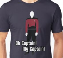Oh Captain! My Captain! - Jean-Luc Picard - Star Trek Unisex T-Shirt