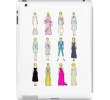 Outfits of Marilyn Fashion iPad Case/Skin