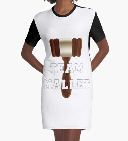 Team Mallet Graphic T-Shirt Dress