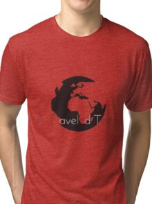 A Traveled Teen Tri-blend T-Shirt