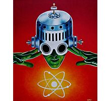 ATOMIC SPACEMAN Photographic Print