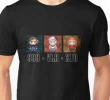 Zero Escape Waifu Trilogy Unisex T-Shirt