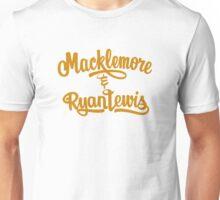 macklemore and ryanlewis logo tour dates Unisex T-Shirt