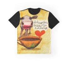 What my Coffee says to me February 16, 2016 Graphic T-Shirt