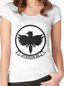 VA-85 Black Falcons Women's Fitted Scoop T-Shirt