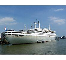 THE ROTTERDAM at Rotterdam harbor Photographic Print