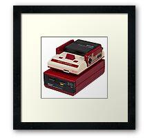 Famicom (NES) Framed Print