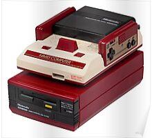 Famicom (NES) Poster