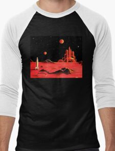 CITY ON MARS Men's Baseball ¾ T-Shirt
