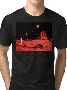 CITY ON MARS Tri-blend T-Shirt