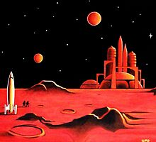 CITY ON MARS by ward-art-studio