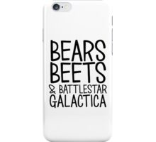 Dwight Schrute The Office TV Quote iPhone Case/Skin