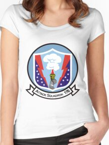 VA-176 Thunderbolts Women's Fitted Scoop T-Shirt