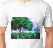 Tree in a Field Unisex T-Shirt