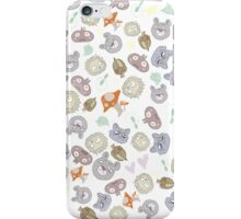 Forest Animal Pattern iPhone Case/Skin