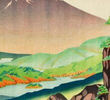 Vintage poster - Japan Sticker