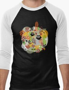 Cute Men's Baseball ¾ T-Shirt
