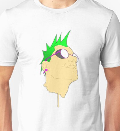 The Face of Punk Unisex T-Shirt