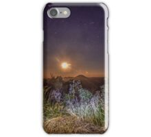 glass house mountains moon iPhone Case/Skin