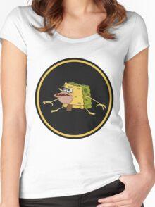 Primitive Spongebob Women's Fitted Scoop T-Shirt