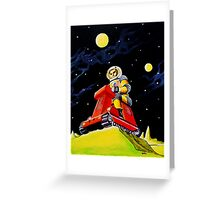 SPACE SCOUT DOUG DAVIS Greeting Card