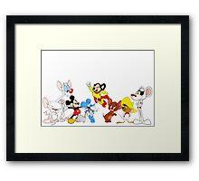 Cartoon Mice, Mouse Framed Print