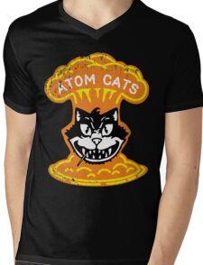 Atom Cats! Mens V-Neck T-Shirt