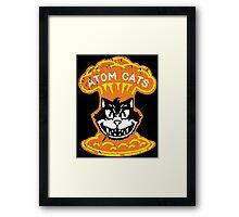 Atom Cats! Framed Print