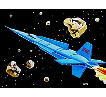 ROCKET SHIP X-12 Photographic Print