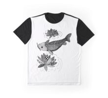 Zentangle Fish Graphic T-Shirt
