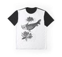 Zentangle Fish Graphic T-Shirt