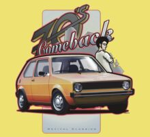 Mk Car - Comeback 70s One Piece - Short Sleeve