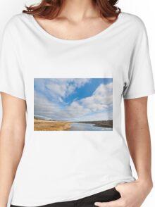 Pond at Damon Point Women's Relaxed Fit T-Shirt