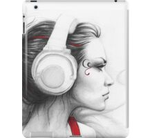 Music Girl iPad Case/Skin