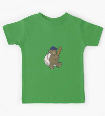 Baseball Bear Kids Tee