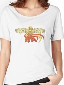Bird Jesus feat. Helix Fossil- Twitch Plays Pokemon Women's Relaxed Fit T-Shirt