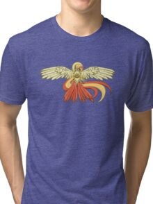 Bird Jesus feat. Helix Fossil- Twitch Plays Pokemon Tri-blend T-Shirt
