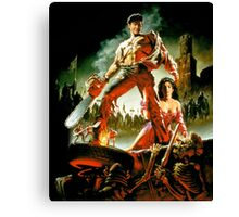 Army of Darkness, evil dead Canvas Print