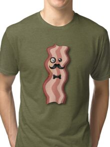 Dapper Bacon Tri-blend T-Shirt