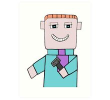 Comedian Game Show Host Art Print
