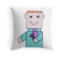 Comedian Game Show Host Throw Pillow