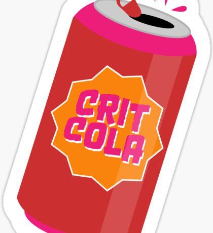 Crit Cola Sticker