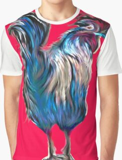 big red rooster Graphic T-Shirt