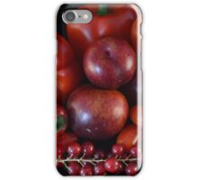 Red Still Life iPhone Case/Skin