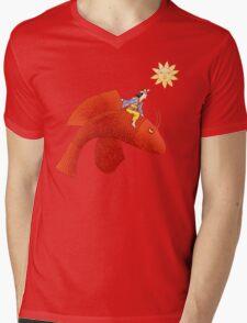 Girl on Flying Fish T-Shirt